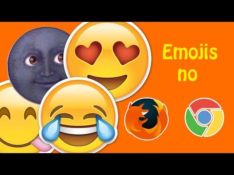 Como usar emoji nos navegadores Chrome e FIrefox
