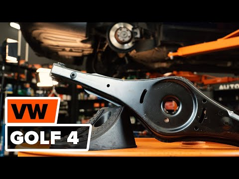 How to replace front lower arm on VW GOLF 4 TUTORIAL | AUTODOC