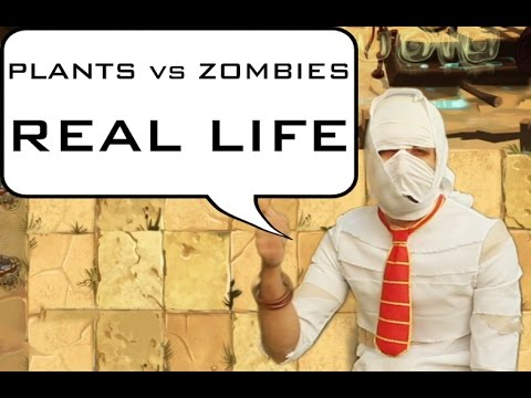 Plants vs Zombies real life