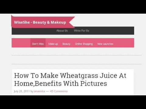 How-To Make Skin Cream From Wheatgrass