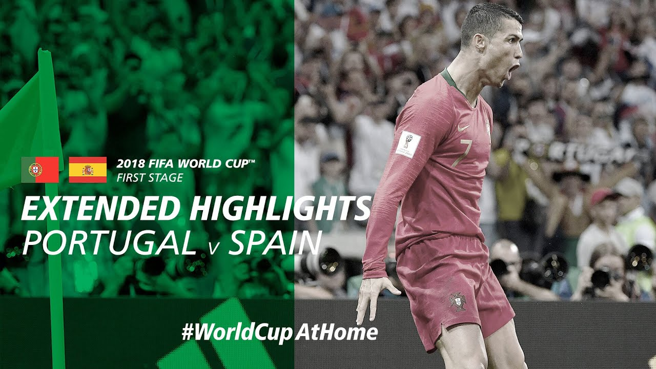 Portugal 3-3 Spain | Extended Highlights | 2018 FIFA World Cup