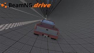 BeamNG drive - CAMINHONETE VS TÚNEL.