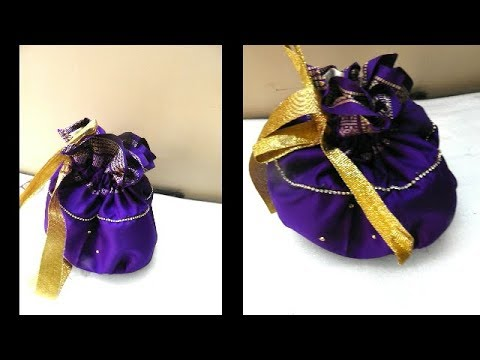 How to Make Potli Bag at Home   Potli Bag Making   Handmade Bags   Banjara Bags Making   UMA