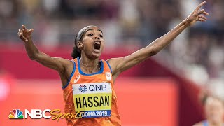 Sifan Hassan completes historic double with massive 1500m win | NBC Sports
