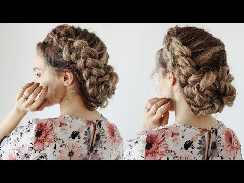 How to: Loose Braided Updo - KayleyMelissa