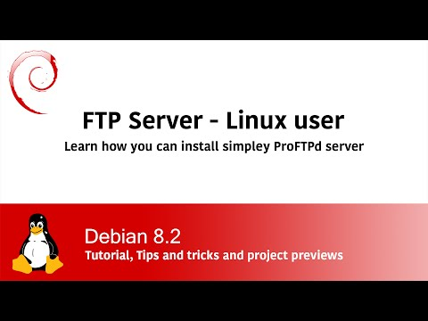 How to install FTP on Linux - ProFTPd on Debian Linux