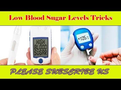Low Blood Sugar Levels Tricks  A simple trick to lower morning blood sugar #B