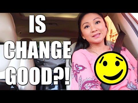 IS CHANGE GOOD?! 😏