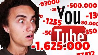 YOUTUBE APOCALYPSE! (-1,000,000 SUBSCRIBERS)