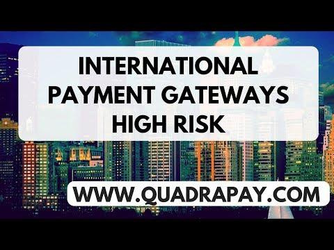 International Payment Gateways High Risk