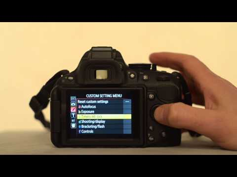 The Nikon D5200 Auto timer off setting - youtube