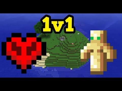 Minecraft PS4 - 1v1 UHC ISLANDS (Totem 1v1)