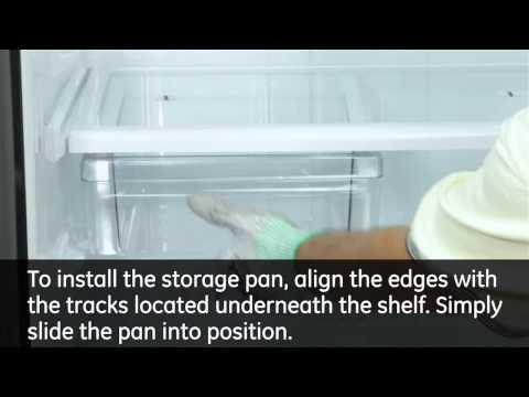 Shelf Installation - Top Mount Refrigerators