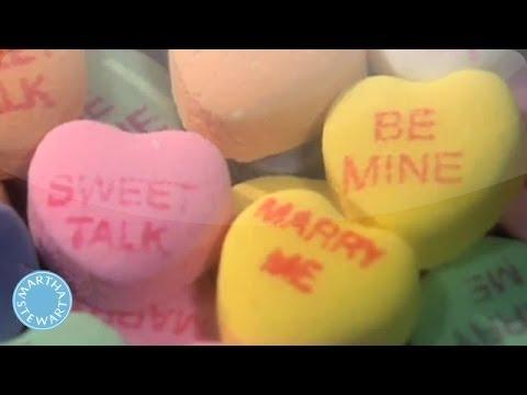 Learn How Sweetheart Candies are Made - Martha Stewart