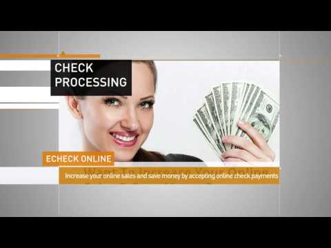 Online Check Processing Service from Merchant Advisors