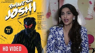 Sonam Kapoor Reaction On Brother Bhavesh Joshi Clash With Veere Di Wedding