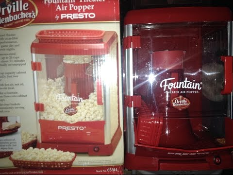 Review of Orville Redenbacher's Popcorn Popper