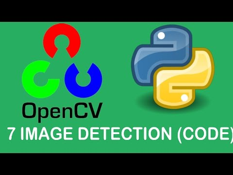 OpenCV3 Tutorials 7: Image Detection (coding)