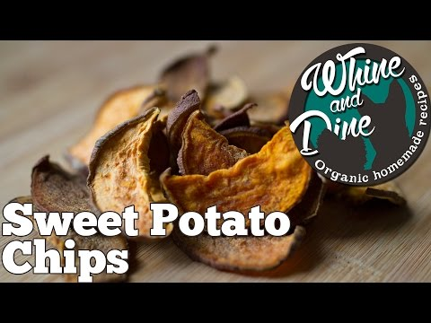 Sweet Potato Treats | Homemade Dog Chips
