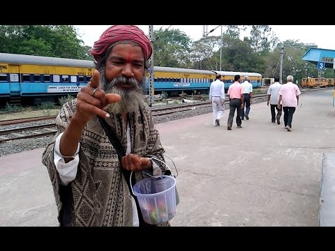 'AN INDIAN BEGGAR SPEAKING ENGLISH FLUENTLY LIKE A RENOWNED SCHOLAR' - Incredible India