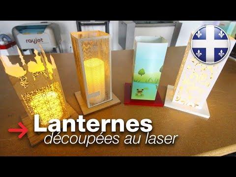 Lanternes découpées au laser | Lanternes en papier | Papier découpé au laser