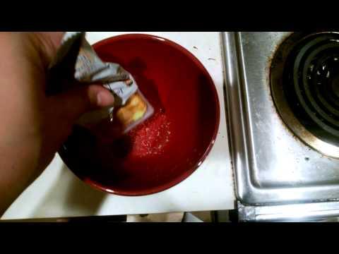 Preparing Instant Miso Soup