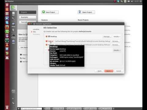 Linux Qt5 C++ Bài 01: Cài đặt Qt và tạo Project đầu tiên