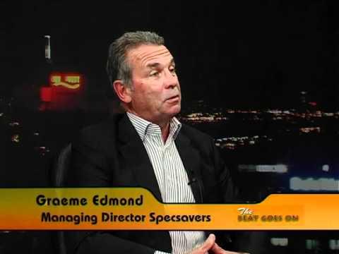 Graeme Edmond Managing Director Specsavers New Zealand