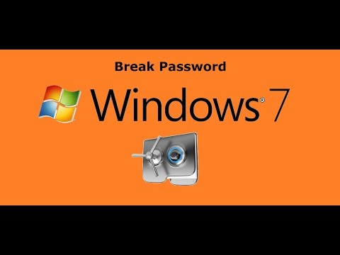 Break windows 7 Password without Tool