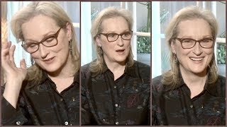 Meryl Streep On Her Body Image and Weight Issues