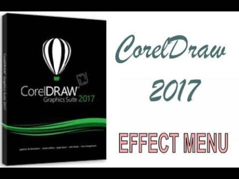 COREL DRAW 2017 USING EFFECT MENU HINDI URDU PART 47