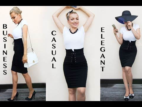 Hourglass class -How to have a perfect hourglass shape-The corset belt hack