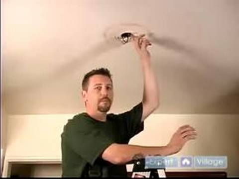 How to Install Ceiling Fans : How to Reinforce the Ceiling & Prepare the Ceiling Fan Box