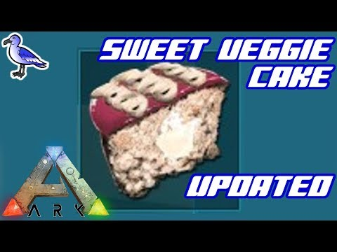 UPDATED - HOW TO MAKE SWEET VEGETABLE CAKE IN ARK