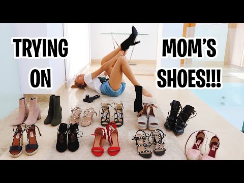 Xxx Mp4 Trying On Mom 39 S Shoes 3gp Sex