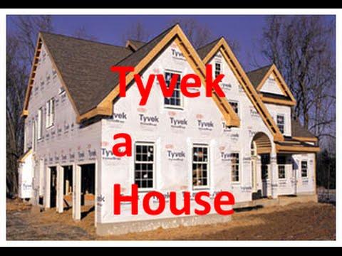 How to Install Tyvek - Vinyl Siding a House - P1