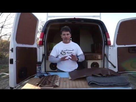 Van Life: DIY Cargo Van to Camper Van Interior - How To Insulate & Upholster Van Walls & Ceiling