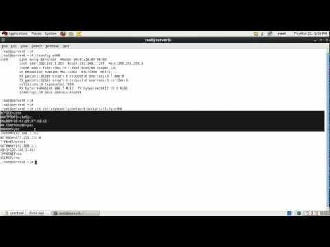 Master DNS server in RHEL 6.x & CentOS 6.x.avi