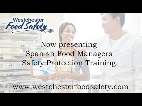 Spanish Servsafe Course Online Food managers Safety Westchester County, Bergen County