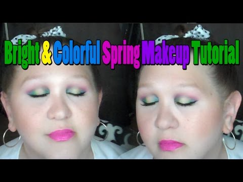 Bright & Colorful Spring Makeup Tutorial