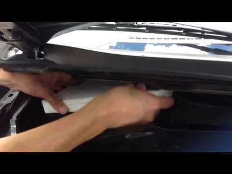 How to install a cabin filter to a 2005 Ford Escape