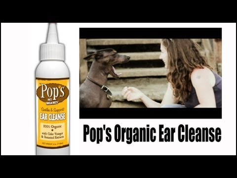 100% Organic Ear Cleanse for Pets