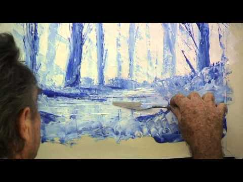 How to Paint with Knife