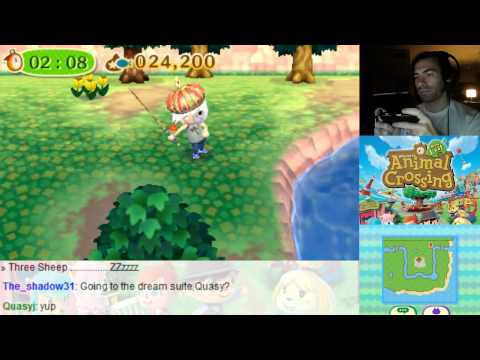 Animal Crossing New Leaf 3DS - String Fish Catch Super Rare Fish