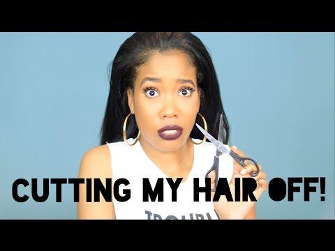 IM CUTTING MY HAIR OFF!
