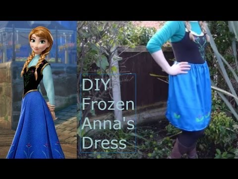 'Frozen' Anna: Easy (No Sew) DIY Outfit
