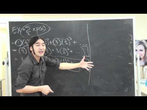Geometric Distribution Expectation (Midterm 2 Math 3C , Jenny's Problem)
