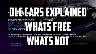 Forza 6 - DLC Cars Explained - Whats Free? Whats Not.