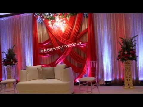 Hot pink Ethnic wedding  decor