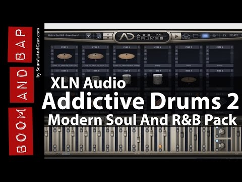 Boom And Bap: @XLNAudio Addictive Drums 2 + Modern Soul And R&B Pack